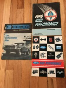 Rare 1965-1967 Ford performance brochures & Shelby Parts ...