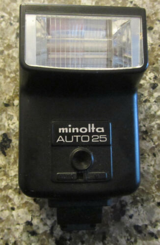 1 of 1 - Minolta Auto25 Mount Flash