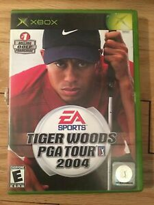TIGER-WOODS-PGA-TOUR-2004-XBOX-COMPLETE-WITH-MANUAL-FREE-S-H-XX