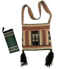 Southwest Chimayo purse with billfold; est 1950