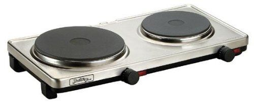 Broil King PCR-2S Professional Double Cast Iron Range, Stainless Steel