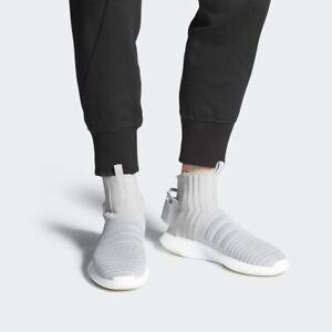 Adidas-Originals-Crazy-1-Adv-Sock-PK-Primeknit-Gray-Casual-Shoes-CQ0984-Mens