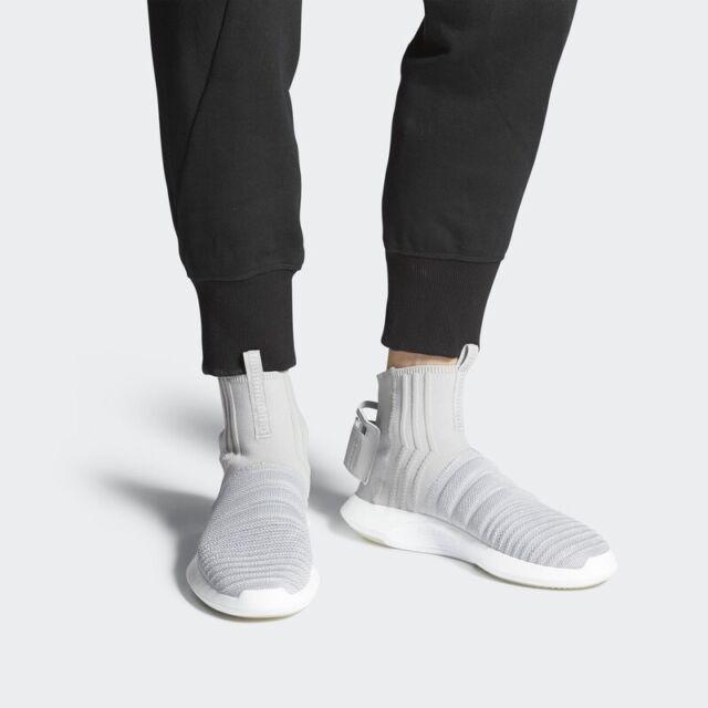 Adidas Originals Crazy 1 Adv Sock PK Primeknit Gray Casual Shoes CQ0984 Mens