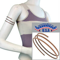 Usa Made In Bracelet Upper Arm Copper Ox Tone Metal Band Cuff on sale