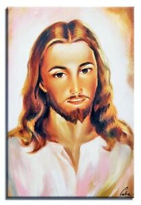 Religion-Jesus-Christ-Handmade-Oil-Painting-Picture-Oil-Frame-Pictures-G00259