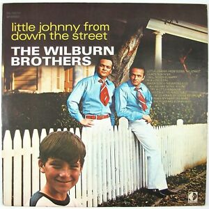 WILBURN BROTHERS Little Johnny From Down The Street LP 1970 NM- NM-