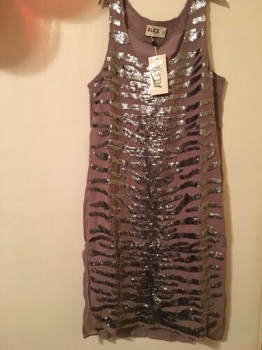Temperley Tank Abito Persia Dove Alice By 12 Size OFywp