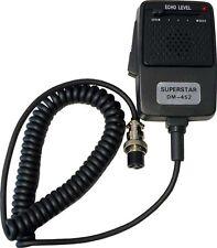 WORKMAN  SUPERSTAR DM-452 CB Radio Echo Power Microphone 4 Pin FASTEST SHIPPING