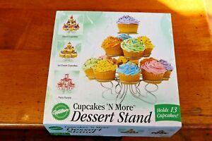 Wilton-Cupcakes-N-More-Dessert-Stand-Holds-13-Cake-Truffles-Display-Rack