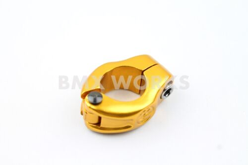 BMX Works Freestyle Seat Clamp 25.4mm suit 22.2mm Post Old School BMX