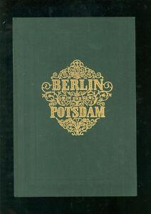 Berlin Et Potsdam 1846-afficher Le Titre D'origine