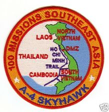 A-4 SKYHAWK 100 MISSIONS OVER SOUTHEAST ASIA PATCH                            Y