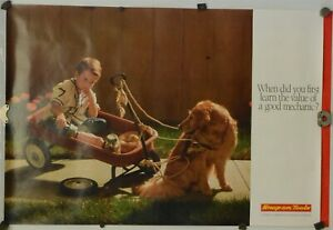 """Shop Man Cave Home Garage Vintage NOS#3 /""""NEW/"""" Snap-on Tools Advertising Poster"""