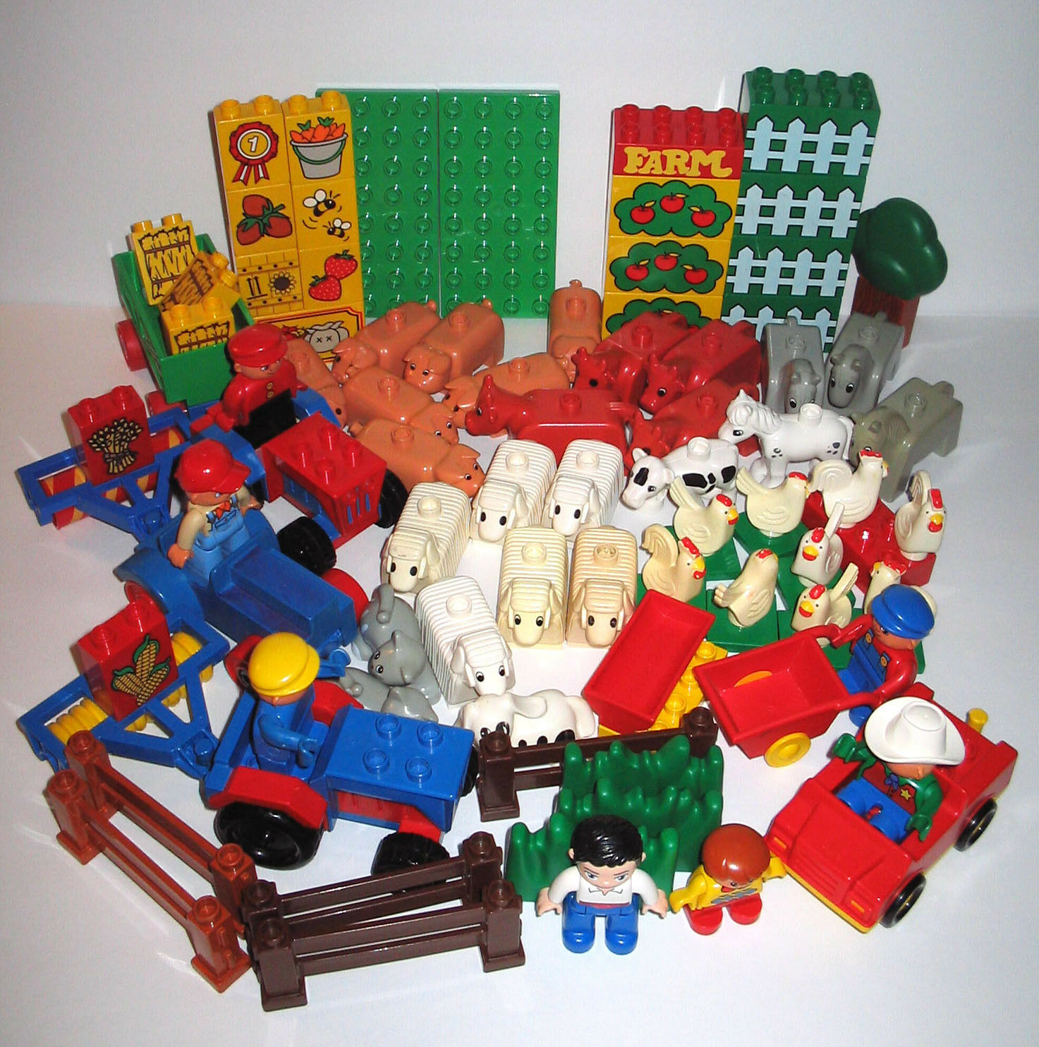 Bundled Lot  DUPLO FARM & ANIMAL Rural Country Living  achats en ligne et magasin de mode