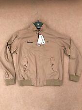 Supreme x Lacoste S/S 17 - Harrington Jacket - Large - Khaki Tan Brown - IN HAND