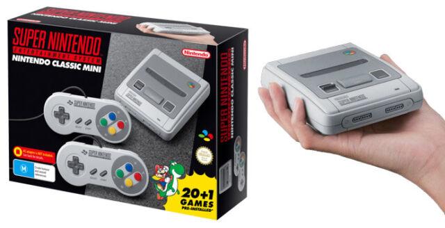 Super Nintendo Entertainment System Classic Mini Grey Console Classic Mini Grey