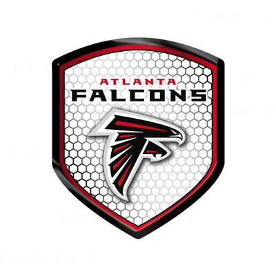 Team ProMark Atlanta Falcons METAL Auto Emblem