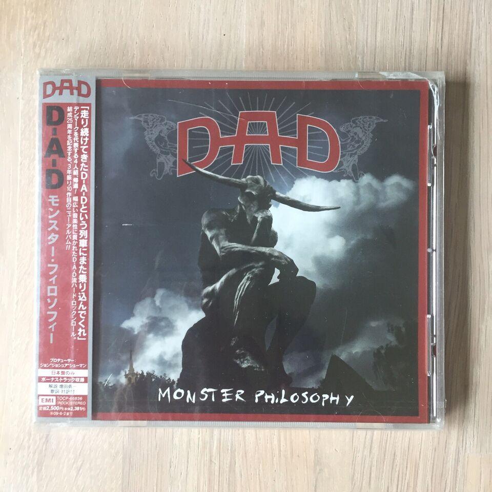DAD / D.A.D.: Monster Philosophy (JAPAN - PROMO - SEALED),