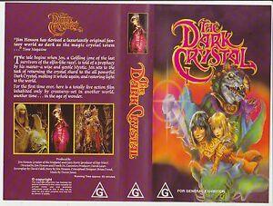 Vhs-The-Dark-Crystal-1982-Pre-Cert-Ex-rental-copy-Jim-Henson-Classic-Fantasy