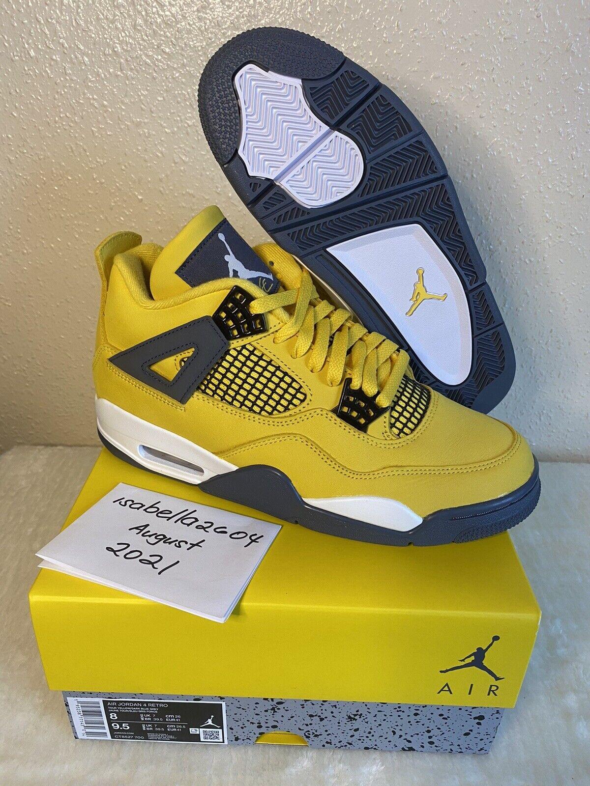Nike Air Jordan 4 Lightning 2021 UK7