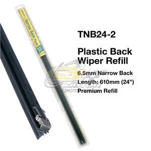 TRIDON-WIPER-PLASTIC-BACK-REFILL-PAIR-FOR-Peugeot-205-01-84-12-94-24inch