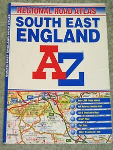 A Z Map Of England.Details About A Z South East England Regional Atlas By Geographers A Z Map Co Ltd P Bk 2002