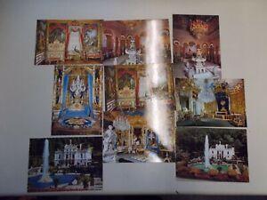 Vintage-Postcards-Postcards-Castle-Linderhof-Palace-Bavaria-9-Piece-K-79-30