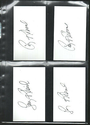 Flight Tracker 10 Larry Robinson Autograph/auto/hand-signed Index Card 3x5 A Highly Polished