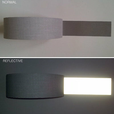 """Reflective Tape Ribbon Sew On Width 1"""" 25mm PROMO PRICE"""