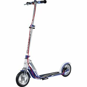 HUDORA-BigWheel-AIR-205-Dual-Brake-Scooter-blau