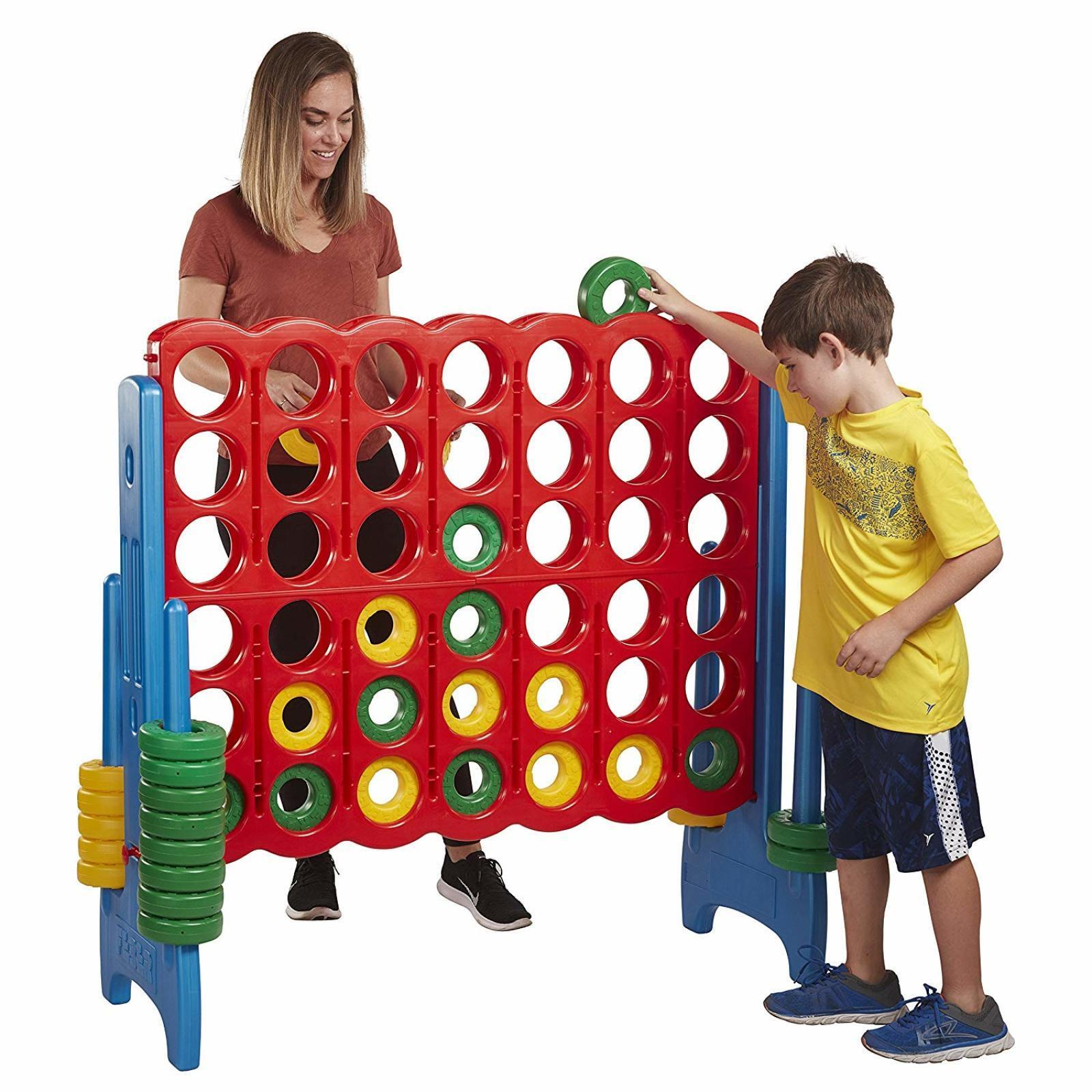 Score Game Set  Giant Größed Family Game Connect 4 Design Game Room Decor Toy Set