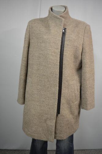 46 Gr Damen Adagio Wolle Beige Top Mantel Jacke a305 Boucle qvH6TwOX6