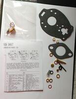 Carburetor Kit For Oliver Tractor W/ Marvel Schebler Carbs:tsx13,tsx28