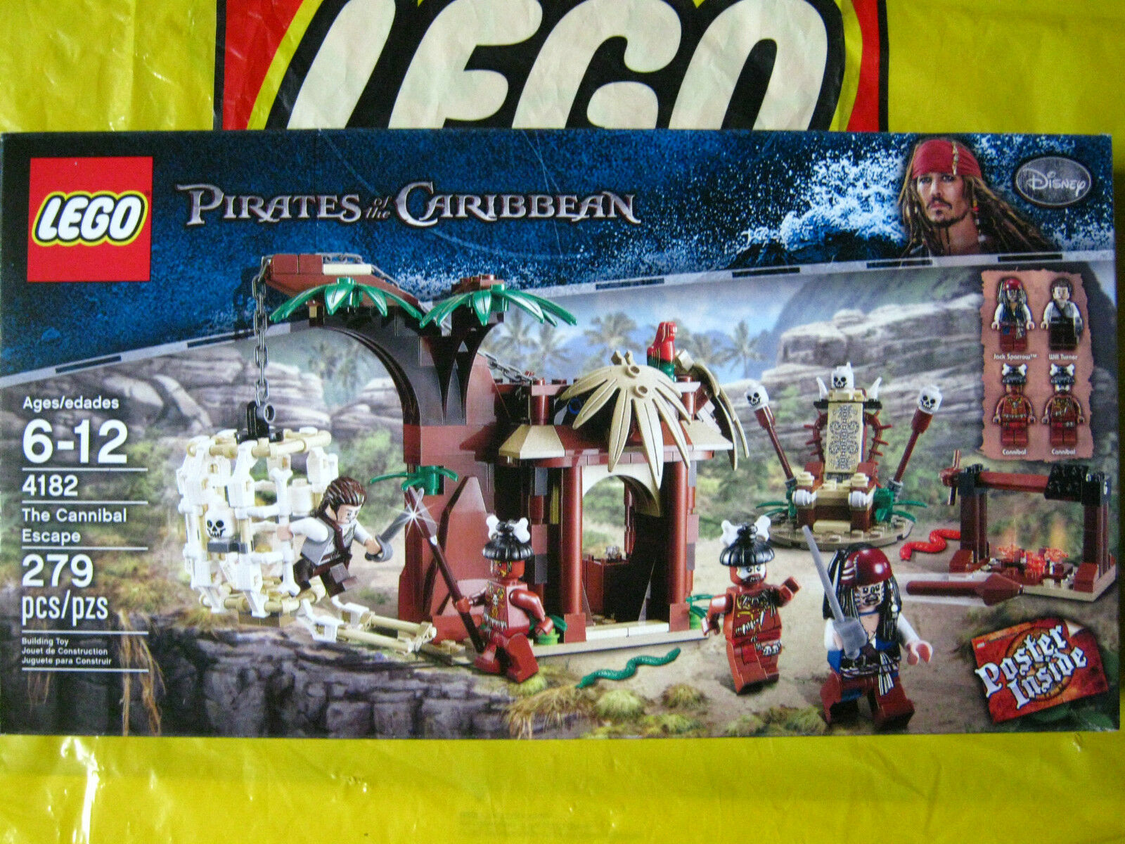 Lego Pirates of the Caribbean The The The Cannibal Escape 4182 New & Sealed da9b5c