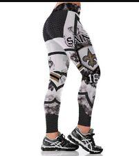 New Orleans Saints Leggings S/M #16 Coleman football Athletic Yoga Stretchy NWT
