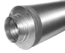 Telefonieschalldämpfer Rohrschalldämpfer NW 100; 1000mm lang; 25mm Dämmung