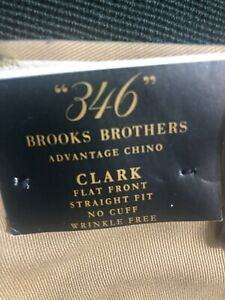 Brooks-Brothers-Mens-Chino-Pants-CLARK-36x32-NEW-With-Tags