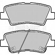 BORG /& BECK BBP2323 REAR BRAKE PADS fit Hyundai i40 07//11