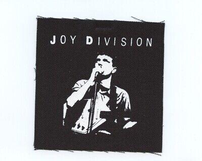 Joy Divison DIY punk patch
