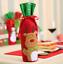 Red-Wine-Bottle-Cover-Bags-Christmas-Decor-Snowman-Santa-Claus-Party-Xmas thumbnail 11