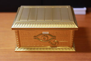 Details about Yugioh NAS MOVIC【Gold Sarcophagus】1:1 Metallic Figure Sealed