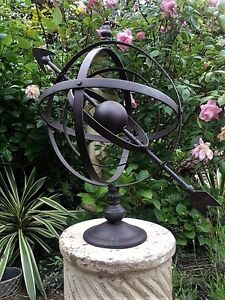 Superbe Image Is Loading 300 Sold Classic Design Garden Armillary  Hemispherian Sundial