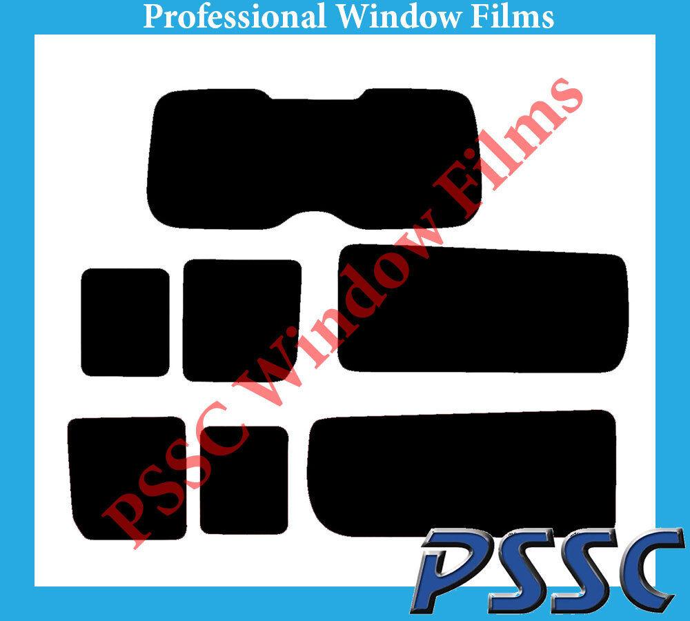 PSSC Pre Cut Rear Car Window Films - Fiat Scudo LWB 2007 to 2016
