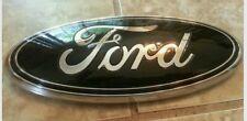 "2011-2014 Ford Edge Grill emblem. 9"" GLOSS BLACK"
