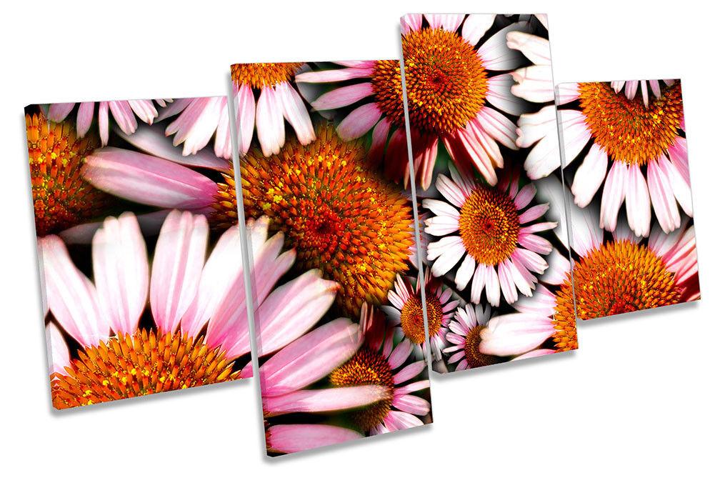 Cono De Flores Floral de Rosa impresión de Floral múltiples LONA pared arte Foto 72a9f8