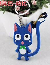 Fairy Tail Happy Keychain 2.5 Inches Anime US Seller