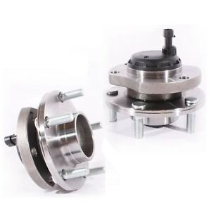 Set-of-FRONT-WHEEL-BEARING-amp-HUB-UNIT-HOLDEN-COMMODORE-VT-II-VX-VY-VZ-with-ABS