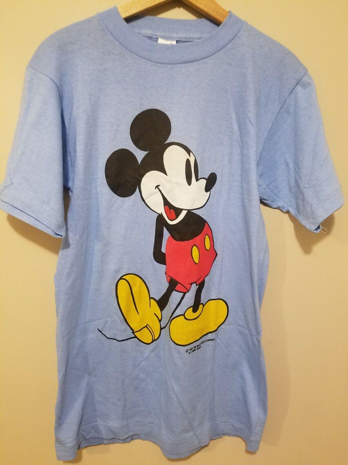 Vintage 1980s Mickey Mouse T Shirt Disney Single Stitch