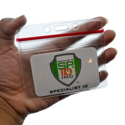 5 Pack Horizontal badge Holders W Premium Large Longes-Croisière clés Cabine chouchous
