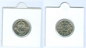 SUECIA-50-Ore-Recien-ACUNADO-AUS-KMS-Seleccione-entre-1976-hasta-1981